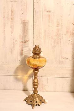 """Lampe à Pétrole - globe en cristal de bohème """"Matador"""""""