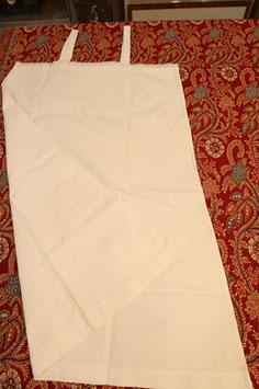 Chemise de nuit fines bretelles blanche