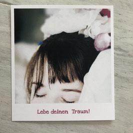 "Fotokarte ""Traum"""