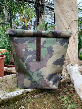 """ brown Army 2 "" der vielseitige  Bag"