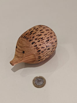 108. Very cute wooden hedgehog