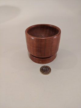 147. Unusual Hardwood hand-turned bowl.