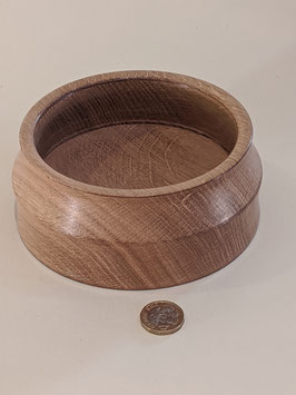 132.  Hand turned bowl. A thing of beauty and useful to keep 'bits' tidy.