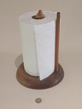 60. Delightful hand-made Kitchen roll holder.