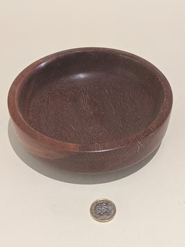 36. Hardwood turned bowl.