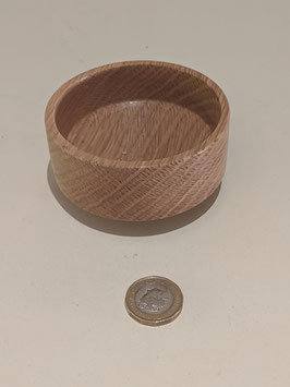 94. Small but fairly deep hand-turned bowl