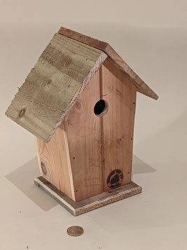 166. Sweet little decorative bird nest box.