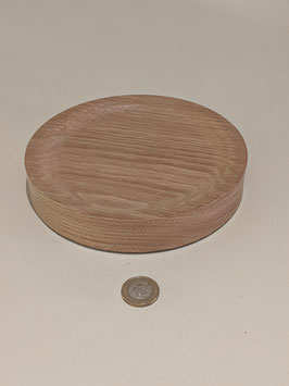89. Hand turned wooden dish. Made in Oak.