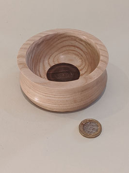 136. Tiny cute hand turned bowl