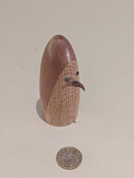 13. Tiny Wooden bird. hand made