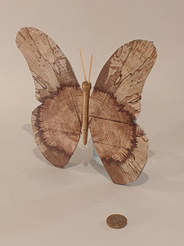 137. Pretty wooden butterfly.