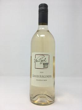 Grauer Burgunder 0,75l Weingut Weitzel Rheinhessen