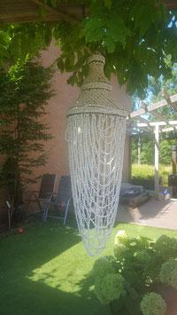 Handgemaakte schelpenlamp