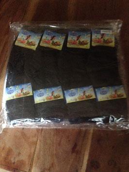 NEUF : 12 paires de chaussettes pour enfants , taille 27-31, pour les 7-9 ans