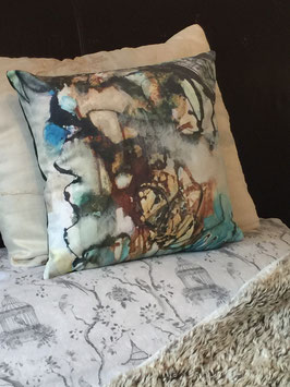 Emerald Dreams Designer Art Cushions- Soft Furnishings