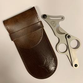 Fox Knives Cigar Cutter inkl. Lederetui