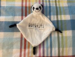 Plüsch Schnuffeltuch Panda