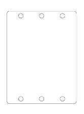 WALK Gehäuseendplatte EASY Kegelspalter