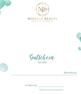 Miracle Beauyt Gutschein