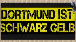Dortmund ist Schwarz Gelb Strandtuch