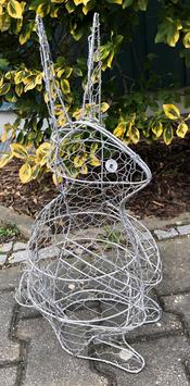 Rabbit Topiary Frame