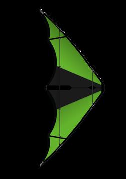 Wilde Hilde - Schwarz / Grün