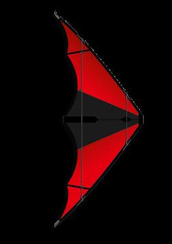 Wilde Wutz - Schwarz / Rot