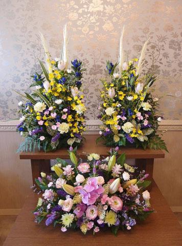 ご自宅用 祭壇花