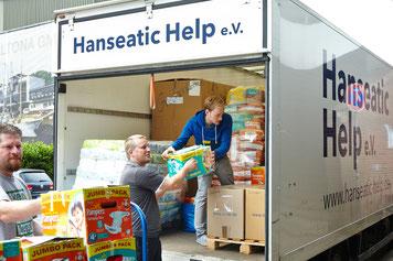 Hamburger Hilfskonvoi – Idomeni ist überall