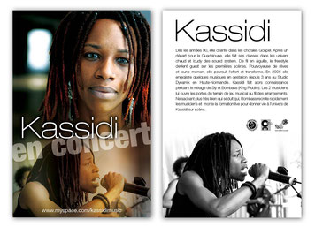 Carte Postale Kassidi - KOSEPT