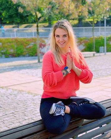 Sabrina Hediger Pink Pearl Yoga