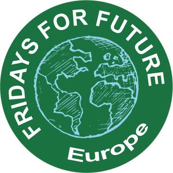Fridays for Future FfF EU Europa Europa Klimastreik Avatar Logo