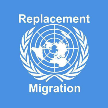 UN United Nations Vereinte Nationen Bevölkerungsaustausch Replacement Migration Telegram Messenger