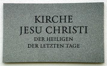 Kirche Jesu Christi der Heiligen der letzten Tage Mormonen Logo
