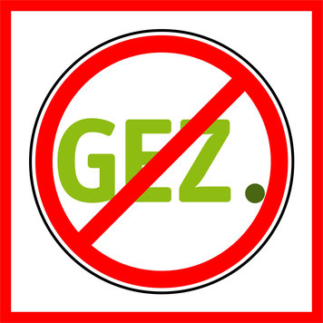 GEZ Online Boykott Logo