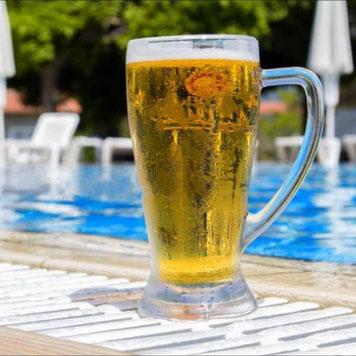 Ich liebe die Bierologie Biertrinker Gruppe Bierfreunde