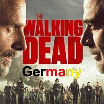 The Walking Dead Germany nie wieder Deutschland verrecke Volkstod