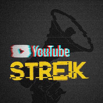 YouTube Streik YouTubeStreik #YouTubeStreik Boykott Avatar