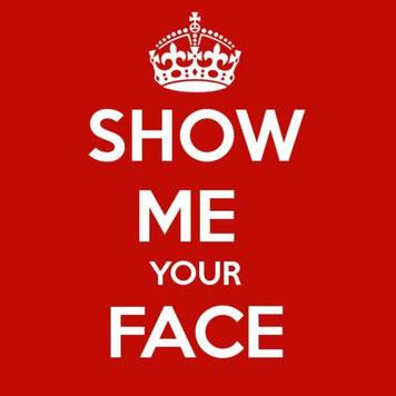 Gesicht zeigen Chat der Aufrechten show me your face