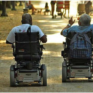 Handycap Behinderte Menschen Rollstuhlfahrer Telegram Messenger