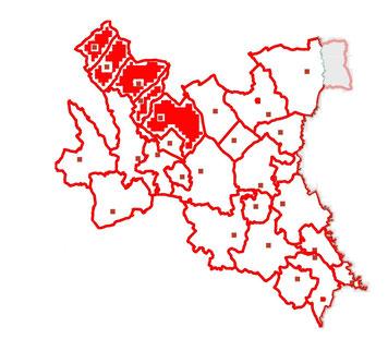 Löschbereichskarte - Abschnitt 3 - Bereichsfeuerwehrverband Fürstenfeld
