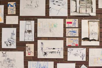 Nina Gross Ausstellung Zu Hause warten die Möbel
