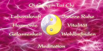 Qi Gong ~ Tai Chi ~ Meditation ~ Booklet - Lebenskraft, Harmonie, Gelassenheit, Innere Ruhe, Vitalität, Wohlbefinden.