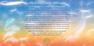 Heilsame Licht~Klänge Booklet