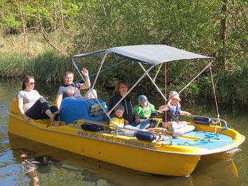 Luxus Tretboot, Ahrensberg, Familien