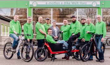 Die e-motion e-Bike Experten in der e-motion e-Bike Welt im Harz