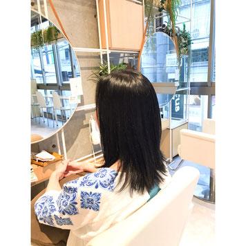横浜  石川町  美容室   Grantusヘアスタイル、ロング、縮毛強制デジタルパーマ求人 ricruit 美容師 美容院