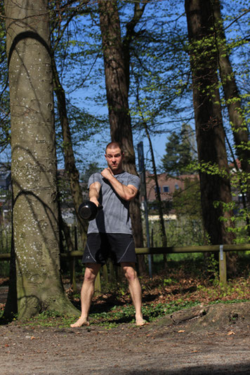 Kettlebell Bodensee Hardstyle One Arm Swing