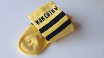 Kleurrijke sokken laten maken met eigen logo