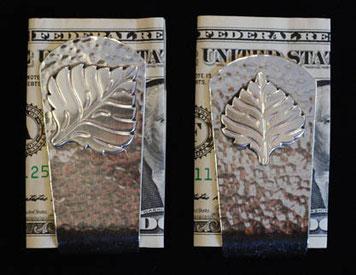 Aspen Leaf Money Clip